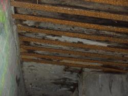 toiture IPN béton d'abri d'Infanterie