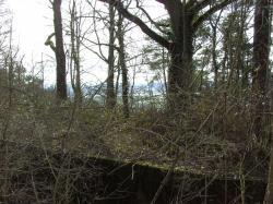 toiture en attente couche béton; vallée de l'Aisne